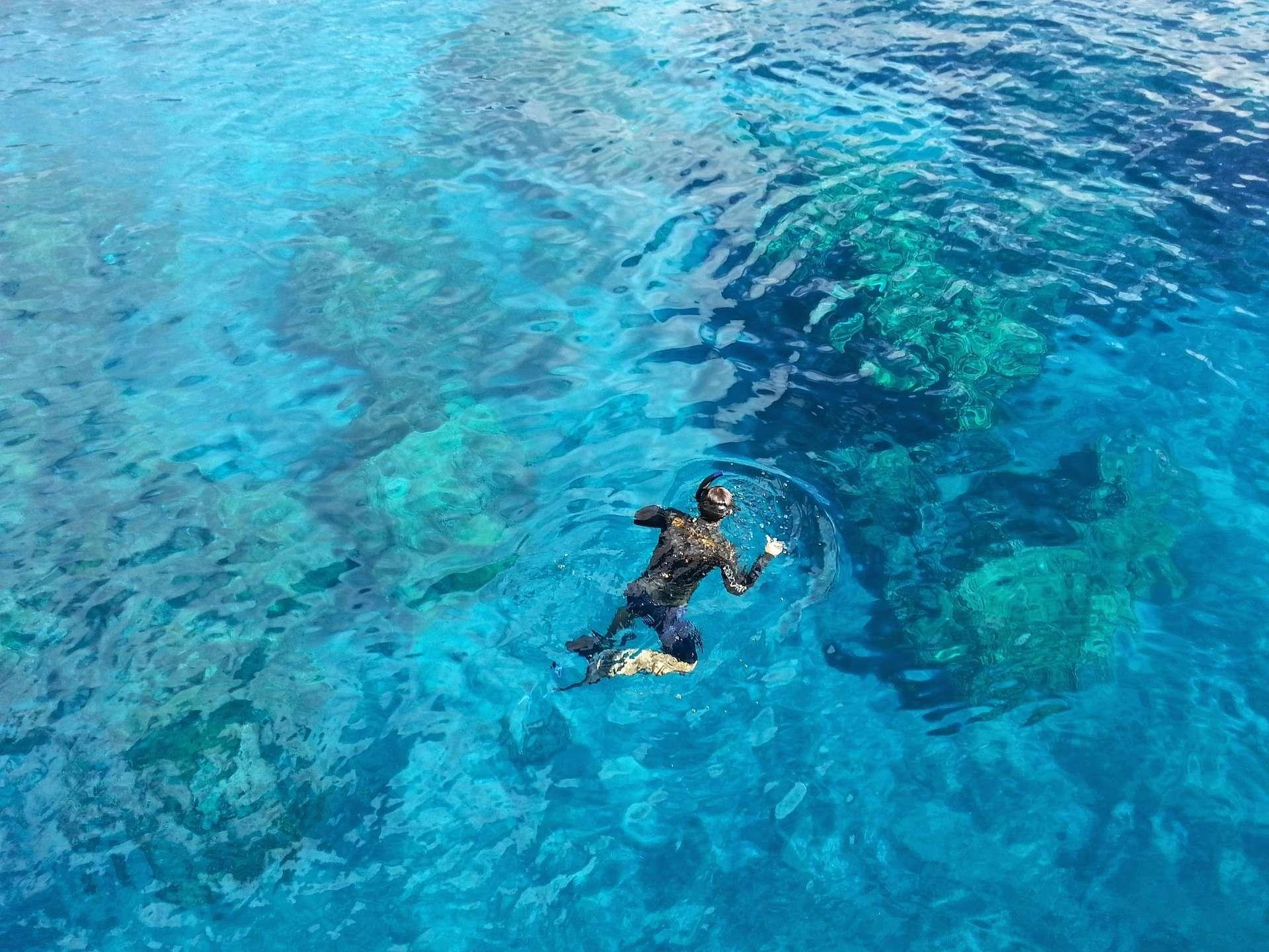 snorkeling in Paxos